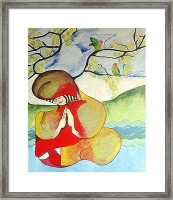 Saturday Afternoon Framed Print by Sanne Rosenmay