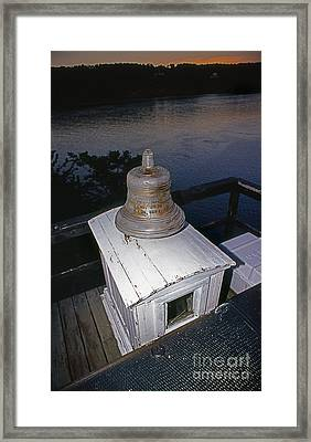 Saugerties Bell Framed Print by Skip Willits