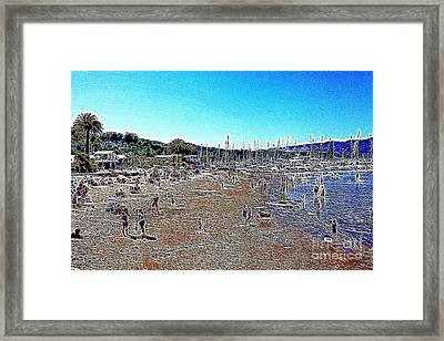Sausalito Beach Sausalito California 5d22696 Artwork Framed Print by Wingsdomain Art and Photography