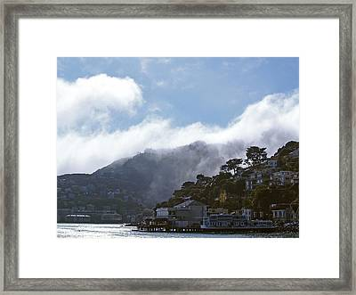 Sausalito- California Framed Print by Haleh Mahbod