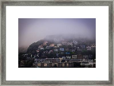 Sausalito Morning Framed Print by Mitch Shindelbower