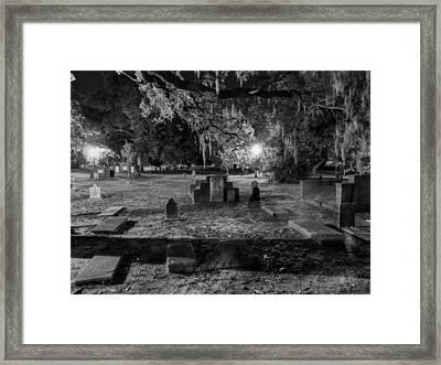 Savannah - Bonaventure Cemetery 001 Framed Print by Lance Vaughn