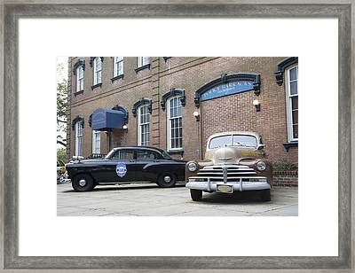 Savannah Chatham Metropolitan Police Department Framed Print by Erin Cadigan