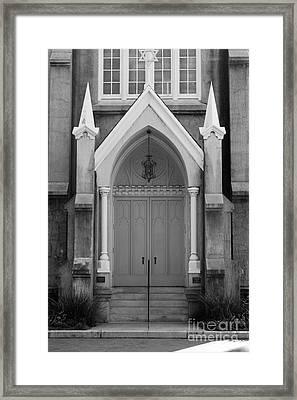 Savannah Synagogue B Framed Print by Jennifer Apffel