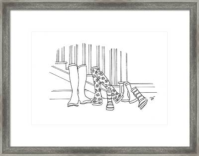 Save It For A Rainy Day Framed Print by Roisin O Farrell