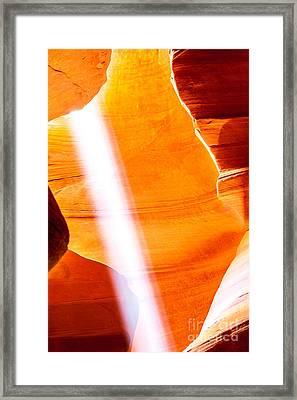 Savior Framed Print by Az Jackson