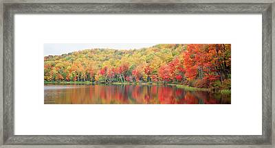 Savoy Mountain State Forest Framed Print by Panoramic Images