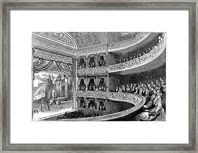 Savoy Theatre Framed Print by Universal History Archive/uig