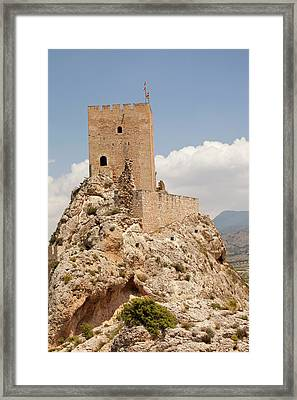 Sax Castle In Sax Framed Print by Ashley Cooper