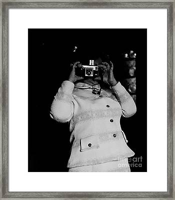 Say Cheese Framed Print by David Vine