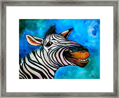Say Cheese Framed Print by Debi Starr