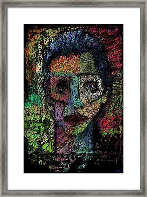 Say Good Nighty To Mr Bitey  Framed Print by Brett Sixtysix