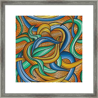 Scale Framed Print by Don Kuing