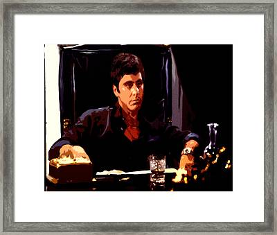 Scarface II Framed Print by Brian Reaves