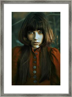 Scarlet Framed Print by Alexander Kuzmin
