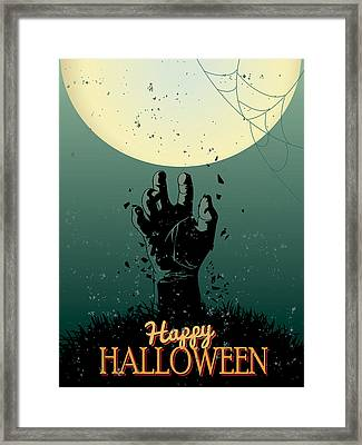 Scary Halloween Framed Print by Gianfranco Weiss