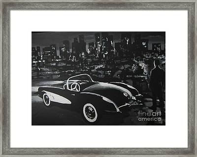Scene From Sin City Two Framed Print by John Malone