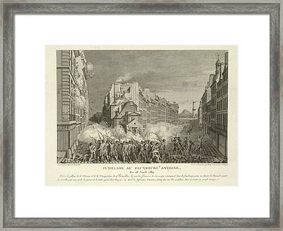 Scene From The French Revolution Framed Print by British Library