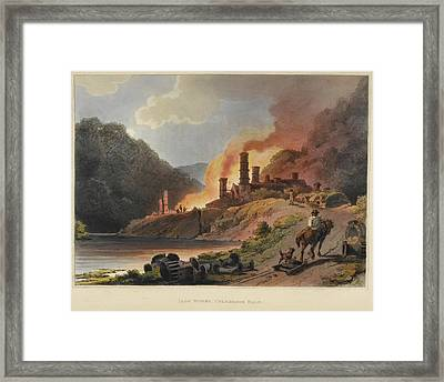 Scenery Of England And Wales Framed Print by British Library