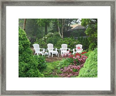 Scenes Of Maine Framed Print by Victoria  Dauphinee