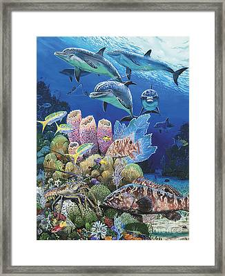 Scenic Route Re006 Framed Print by Carey Chen
