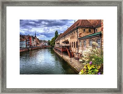 Scenic Strasbourg  Framed Print by Carol Japp