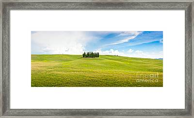 Scenic Tuscany Framed Print by JR Photography