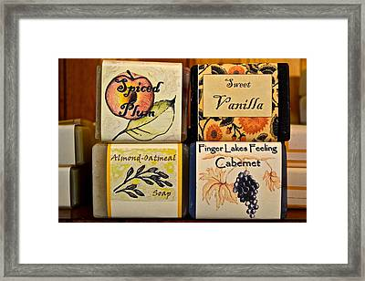 Scented Pleasure Framed Print by Frozen in Time Fine Art Photography