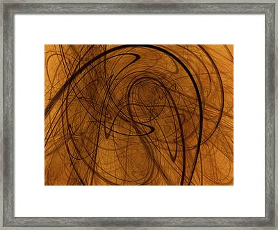 Schizophrenia Of Modern Ethical Theories  Framed Print by Jeff Iverson
