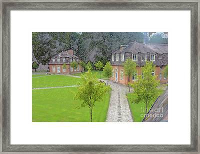 Schloss Clemenswerth #15 Framed Print by Colin Hunt