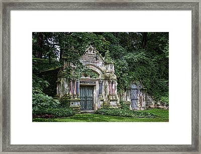 Schofield Crypt Framed Print by Tom Mc Nemar