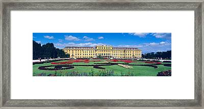 Schonbrunn Palace, Gardens, Vienna Framed Print by Panoramic Images