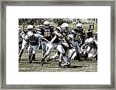 School Boy Right Framed Print by Bob Hislop