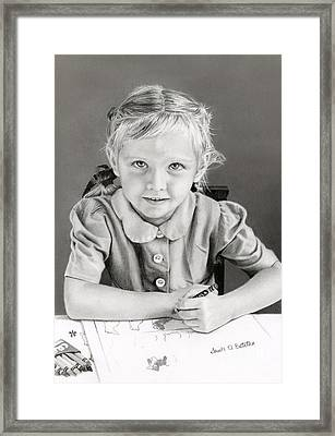 School Days 1948 Framed Print by Sarah Batalka