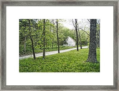 School Days Framed Print by Cricket Hackmann