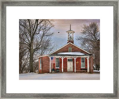 School Days Framed Print by Lori Deiter