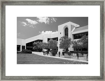 School Of Law Pepperdine University Framed Print by University Icons