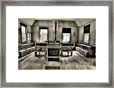 School Room Framed Print by Kathleen Struckle