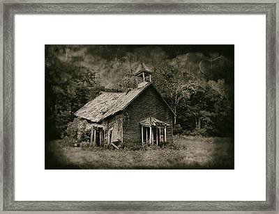 School's Out Framed Print by Tom Mc Nemar