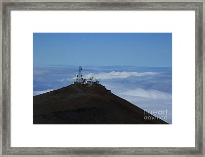 Science City Haleakala Framed Print by Sharon Mau