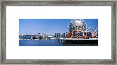 Science Museum At The Waterfront Framed Print by Panoramic Images