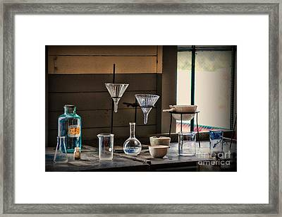 Science - This Old Lab Framed Print by Paul Ward