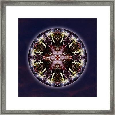 Scorpio Moon Warrior Framed Print by Alicia Kent