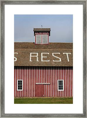 Scouts Rest Ranch, North Platte Framed Print by Panoramic Images