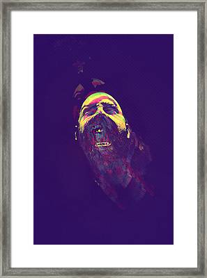 Scream Framed Print by Paul Large
