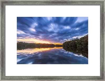 Screaming Sky Framed Print by Bryan Bzdula