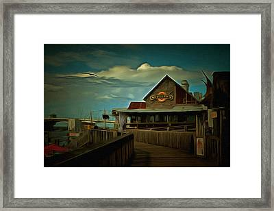 Sculley's Framed Print by L Wright