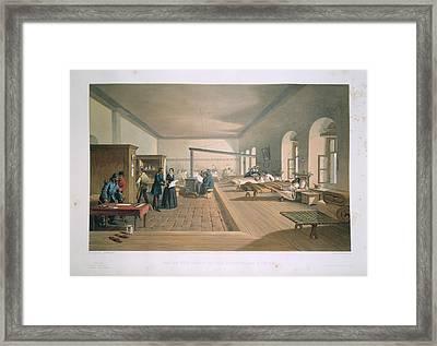 Scutari Hospital Ward Framed Print by British Library