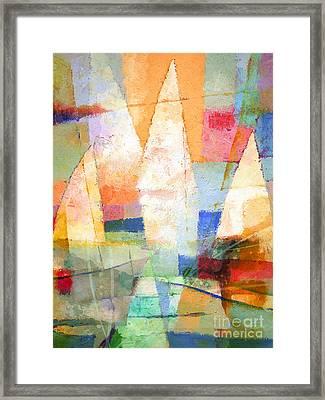 Sea Colors Framed Print by Lutz Baar