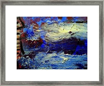 Sea Desaster Framed Print by Mirko Gallery